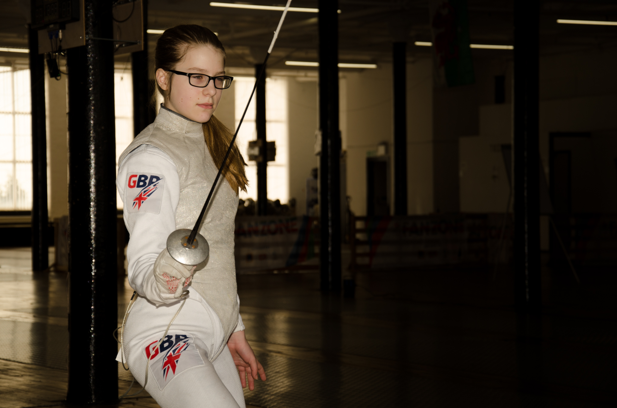 GB fencing star Lucy Belle