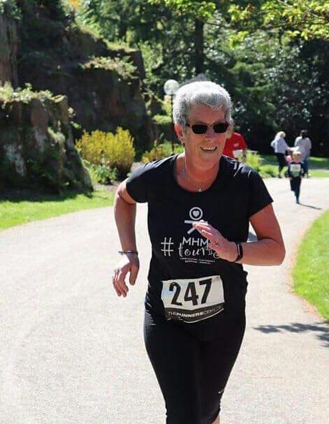 Christine Runs again after physio