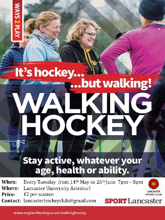 Walking Hockey Lancaster