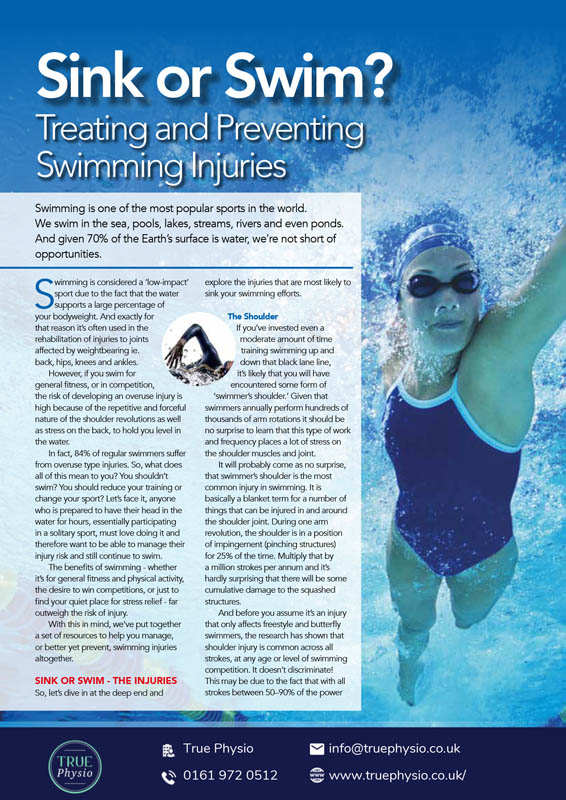 Treating and preventing swimming injuries